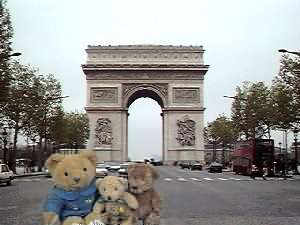 Picture Of The Arc De Triomphe