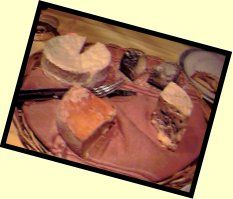 Picture of the cheese board at Aux Trois Bourriques