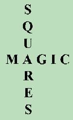 Magic Squares Links