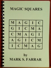 Magic Squares Book by Mark S. Farrar