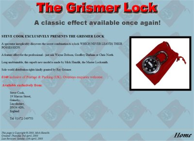 The Grismer Lock