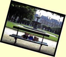 Picture of us in the Place des Vosges
