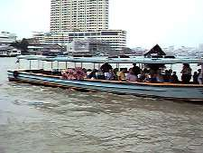 View of an express riverboat