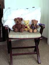 View of us teddies sunning ourselves